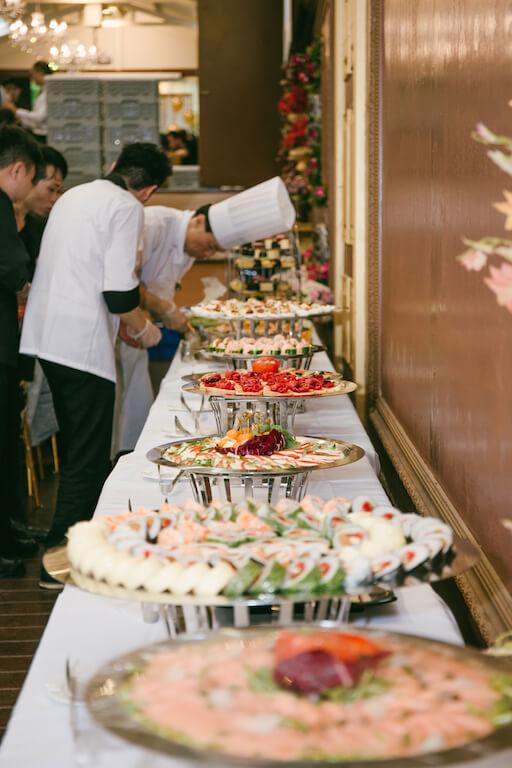 婚禮外燴Wedding buffet